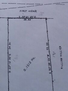Nice building lot in town of Howley west coast N.L.