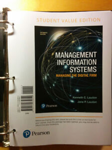 Management Information Systems 15th Edition