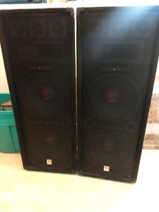 Fs Rockville speakers
