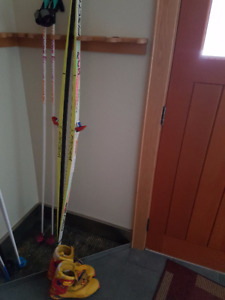 Skate Ski Setup - for 5'9 and up - size 9 boots