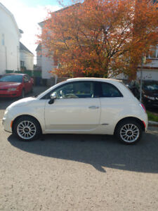 Fiat 500 Lounge Cabriolet 2012