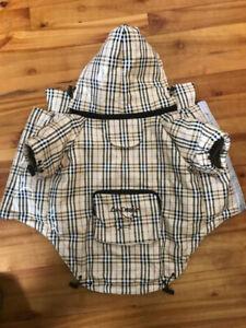 Manteau de pluie La Dosha pour chien, taille 16 po