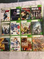 Xbox 360 video games $10 each