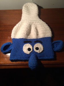 Knit Smurf Toque