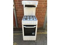 White Gas Cooker With Eye Level Grill, Can Deliver