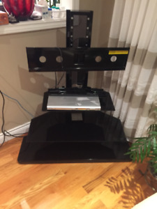 TV stand with integrated mount (corner/straight) - Like new