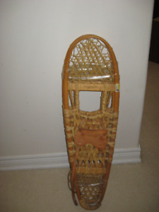 10X36 Wooden Snow Shoes