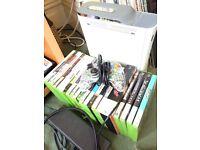 Xbox 360 console & controller & 24 game bundle HDMI