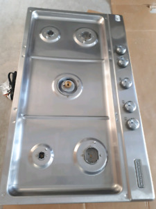 Brand new natural gas cooktop