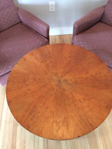 Antique Mid Century Table & Chairs