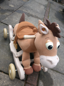 2 in 1 Wheels Rocking horse, good condition