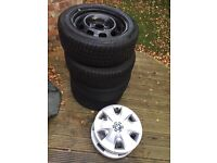 Bmw 1 series winter wheels and tyres new shape (2011 - present) 120d 118d 116i etc