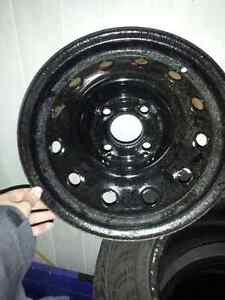 (4)- 14 inch winter rims for sale $80 or Best OFFER Cambridge Kitchener Area image 2