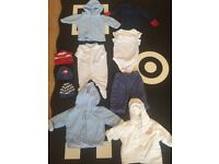 Baby boys clothes bundle 0-3