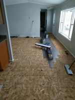 Flooring Installation - call for quotes