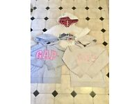 Girls fat face & Gap sweatshirts bundle age 11/12 years GC £5 the lot