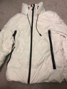 White Down Jacket Small
