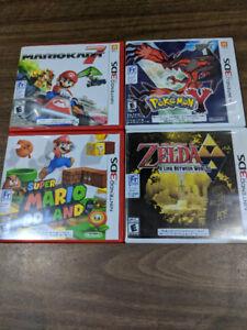 Various 3DS Games (Pokemon, Mario Kart, Super Mario 3D, Zelda)