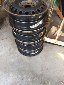 "17"" GM Steel Rims Peterborough Peterborough Area image 3"