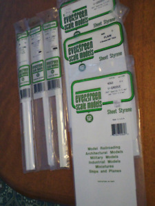 HO scale building materials for electric model trains