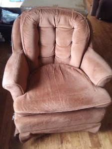 Comfy retro chairs
