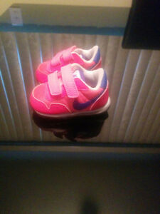 Brand new pink - size 3 nikes.
