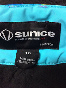 Snow pants Sunice Kids youth size 10  Extendable Hem London Ontario image 5