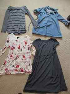Large Lot of Winter and Summer Maternity Clothes- Medium