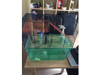 Large Gerbilarium for Gerbils and Hamsters etc with toys