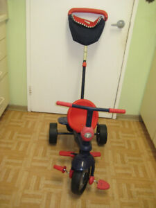 trycycle SMARTRIKE with a handle clean ready to enjoy