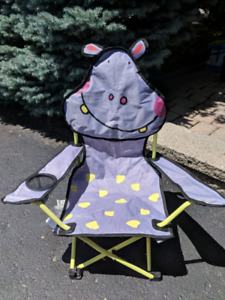 Child's folding lawn chair -$5
