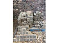 FREE (damaged) Stable bricks/rubble