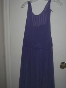 Womans Dress (Long)  - Beautiful Purple/Periwinkle blue