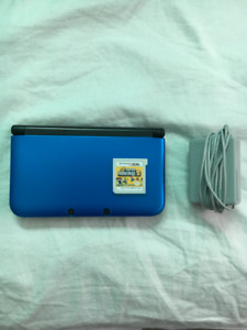 Nintendo 3DS XL [Blue] [Comes with Charger + Game]