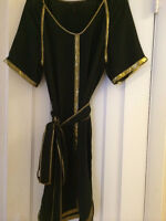 Bcbg Max Azria Ladies Black And Gold Dress