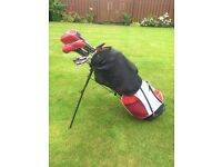 Spaulding Golf Clubs - Full Set SP-88 + Carry Bag with Stand & Stras
