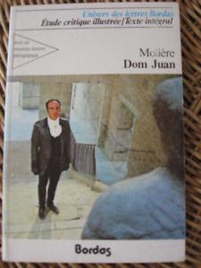 Théâtre : Dom Juan MOLIÈRE - Texte INTÉGRAL - Bordas