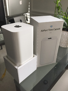 Apple Time Capsule 2TB router & time machine backup - LIKE NEW