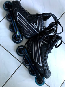 ~Like New~Mission CCM Vector 02 Roller Blade inline hockey