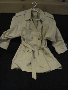 Woman's Trench coat and Blazer