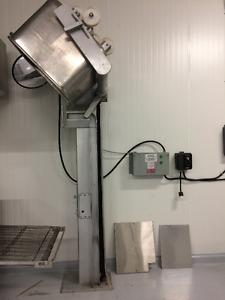 chargeur de bac à viande 200 litres