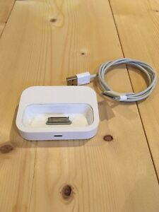 Apple iPhone or iPod dock with charging cable