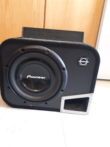 12inch subwoofer and Amp