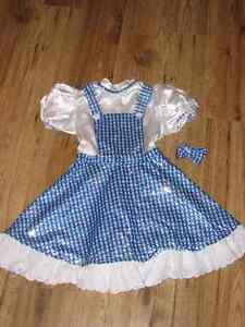 Wizard of Oz Dorothy Costume, size 6/7