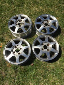 """15"""" rims from 95 Honda Accord for sale (4 bolt)"""