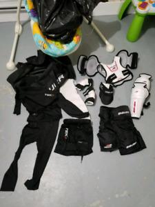 Équipement dhockey enfant