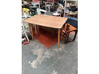 Lovely old vintage Formica dropleaf table 1960s 1970s