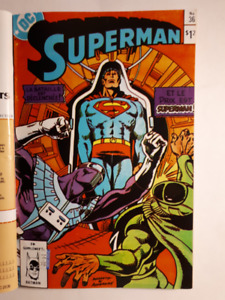 Superman, La Légion Super Héros,  1985-1986,  français