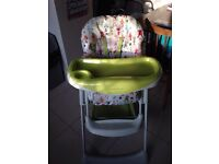Mamas and papas child's high chair for sale