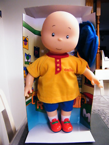 15'' LARGE CAILLOU DOLL IN ORIGINAL BOX NEW